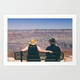 Grand Canyon Views Art Print