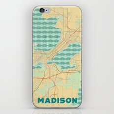 Madison Map Retro iPhone & iPod Skin