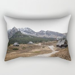 Tatra mountain landscape Rectangular Pillow
