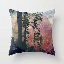 Bosco (Wood) Throw Pillow