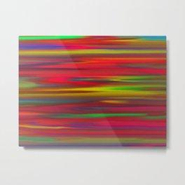 Astratto multicolore Metal Print