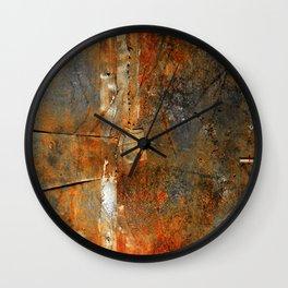 Rust Texture 72 Wall Clock