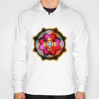 sacred geometry Hoodies featuring Sacred by Sircasm