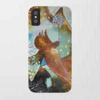 """flora bowley iPhone & iPod Cases featuring """"Two Hearts"""" Original Painting by Flora Bowley by Flora Bowley"""