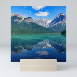 Canada Photography - A Big Colorful Lake Mini Art Print