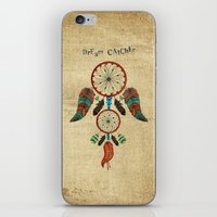 dream catcher iPhone & iPod Skins featuring DREAM CATCHER by Heaven7