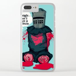 The Black Knight 2 Clear iPhone Case
