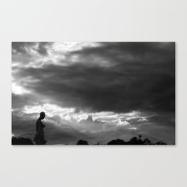 And the sky opened... Canvas Print