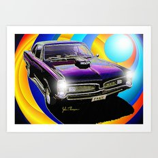 GTO Art Print
