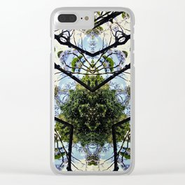 Natural Pattern No 1 Clear iPhone Case