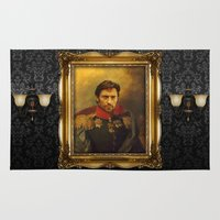 replaceface Area & Throw Rugs featuring Hugh Jackman - replaceface by replaceface