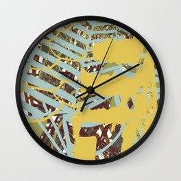 Paradise texture Wall Clock