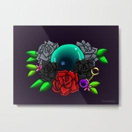 June Birthstone Dragonball #1 Metal Print