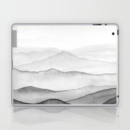Black Mountains Laptop & iPad Skin