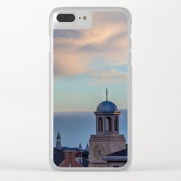 Seminary Sunset pt.2 Clear iPhone Case