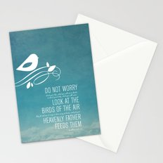 Do Not Worry Stationery Cards