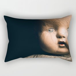Antique Doll Rectangular Pillow