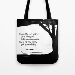 Great is Your Faithfulness Tote Bag