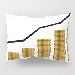 Rising Prices Pillow Sham