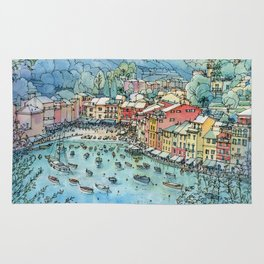 Portofino, Italy Rug