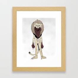 Courage Framed Art Print