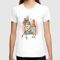 romance T-shirts featuring Bottled Romance by Laurie A. Conley