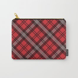 Scottish Plaid-Red Carry-All Pouch