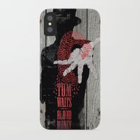 tom waits iPhone & iPod Cases featuring Tom Waits by J.C.D
