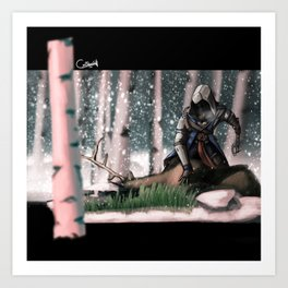 Hands on the lost : AC3 Art Print