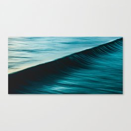 Slow Shutter On Wave Canvas Print