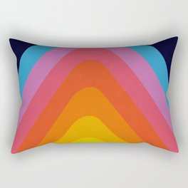 Colorful Peaks Rectangular Pillow