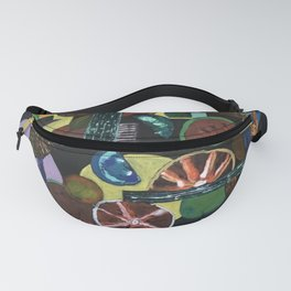 Abstract Fruits Fanny Pack