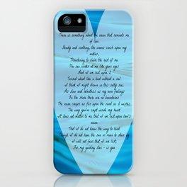 Upon Love's Ocean iPhone Case