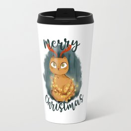 Merry Cat-mas Travel Mug