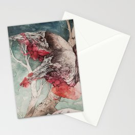 """Insatiable"", as a print Stationery Cards"