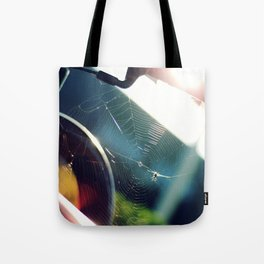 Spiderweb Bike Tote Bag