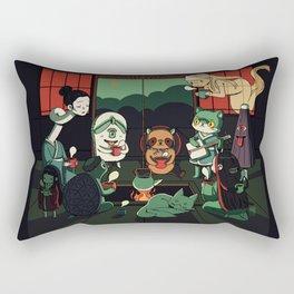 Yokai Tea Party Rectangular Pillow