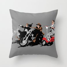 peewee rider. Throw Pillow