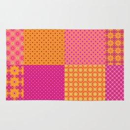 4x4 digital patchwork Rug