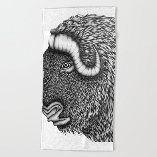 Boris Beach Towel