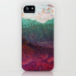 Across the Poisoned Glen iPhone Case