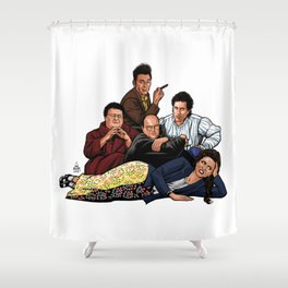 The Nothing Club Shower Curtain
