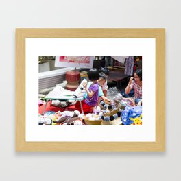Children of Saigon Framed Art Print