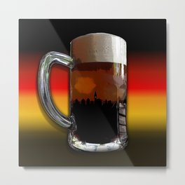 German Sunset Metal Print