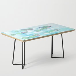 Mermaids dream by day Coffee Table