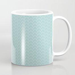 Upward Arrows - Eggshell Blue Coffee Mug