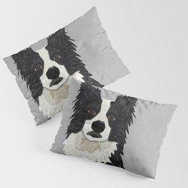 Beautiful Border Collie Pillow Sham