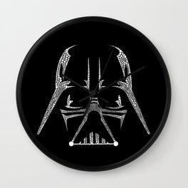 Vader Doodle Wall Clock