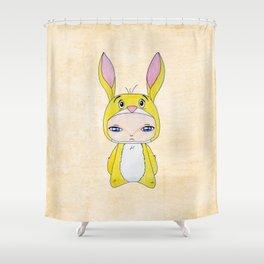 A Boy - Rabbit (coco lapin) Shower Curtain
