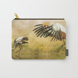 Great Crested Cranes Carry-All Pouch
